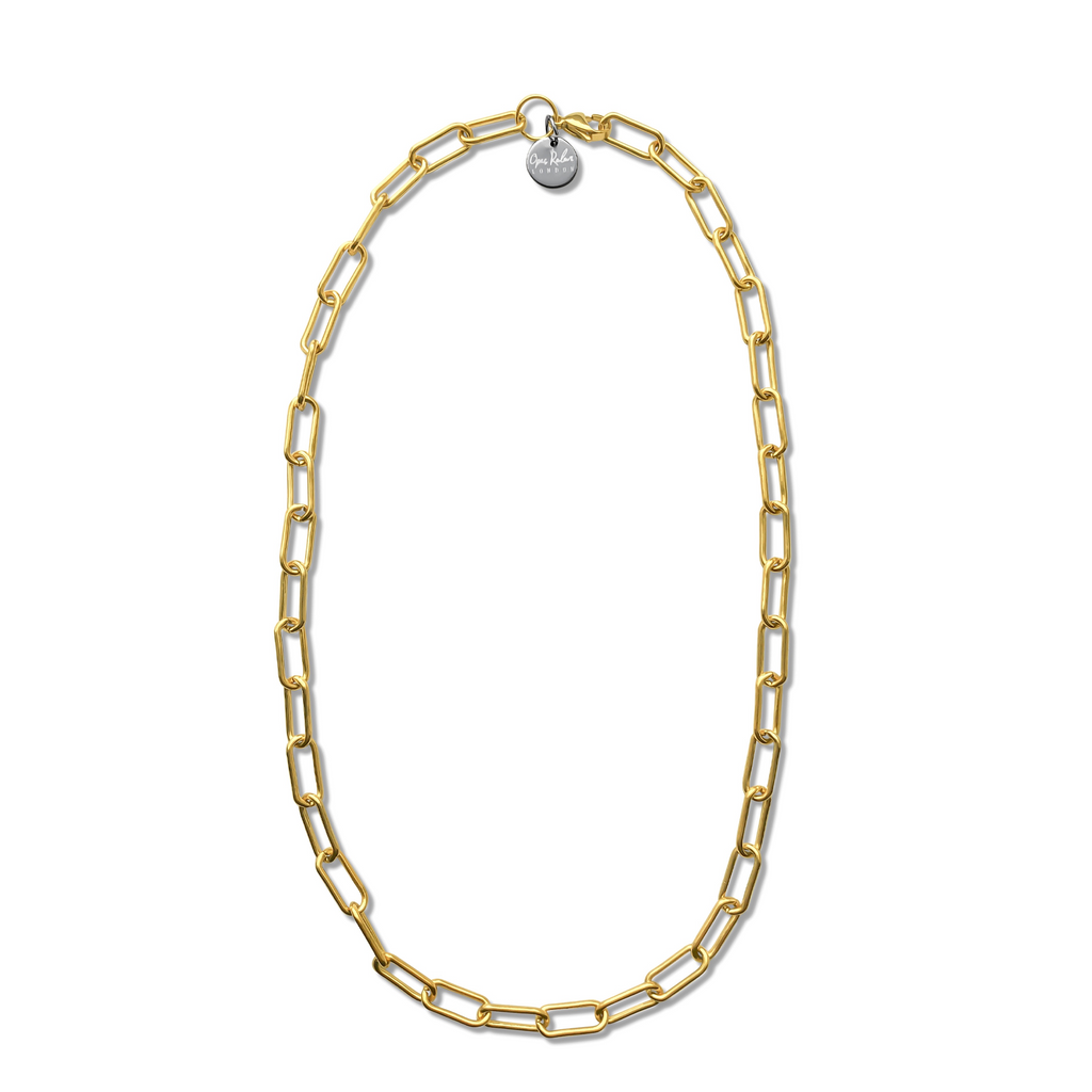 GOLD LONG LINK CHAIN