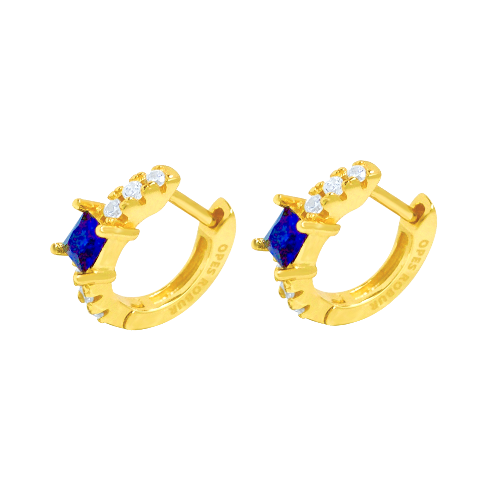 BLUE PRINCESS HOOPS
