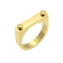Gold D2 Ring