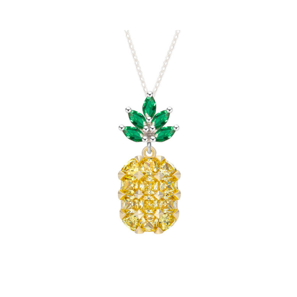 Mini Pineapple Necklace - Opes Robur