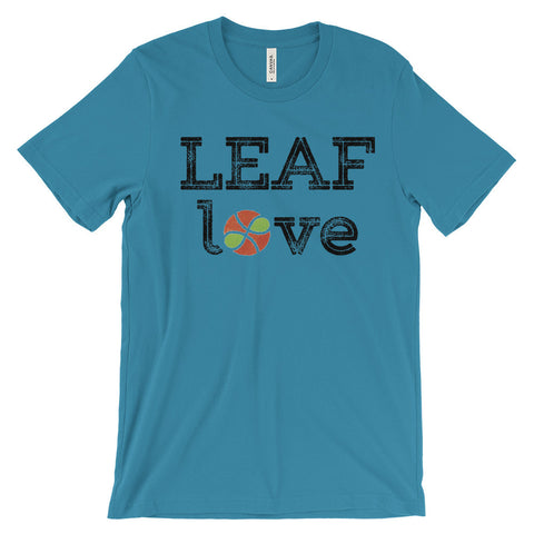 LEAF Love Unisex short sleeve t-shirt