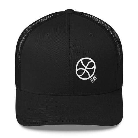 "Simple ""LEAF Love"" Trucker Cap"