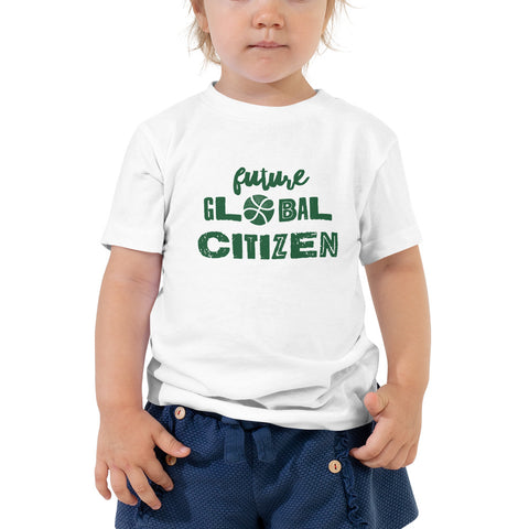 """Future Global Citizen"" Toddler Tee"