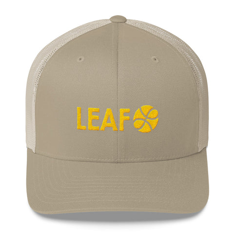 """LEAF"" Trucker Cap"
