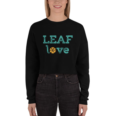 """LEAF Love"" Cropped Sweatshirt"