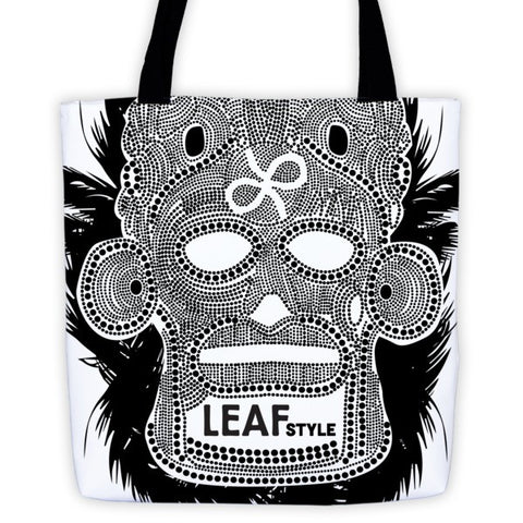 """NOLA Mask"" Tote bag"