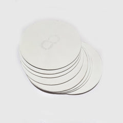 Saddle Back Leather Drink Coasters, set of 8