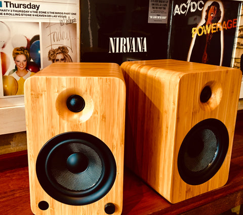Kanto Audio YU6 Bamboo Active Speakers