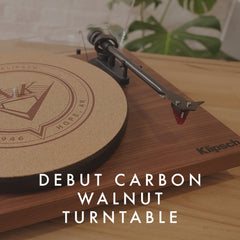 Klipsch Debut Carbon Walnut turntable - Vinyl Revival