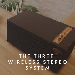 Klipsch the three WIRELESS STEREO SYSTEM Vinyl Revival