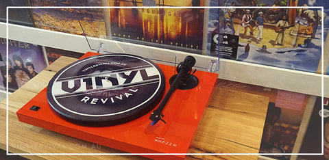 MUSIC HALL TURNTABLES vinyl revival