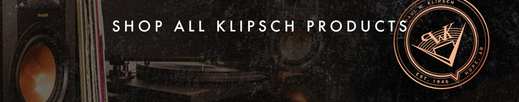 Shop all Klipsch products at Vinyl Revival Melbourne