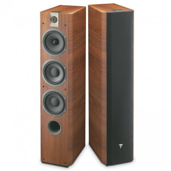 Focal Chorus 726 Floorstanding Speakers in Walnut - Vinyl Revival - Fitzroy - 1