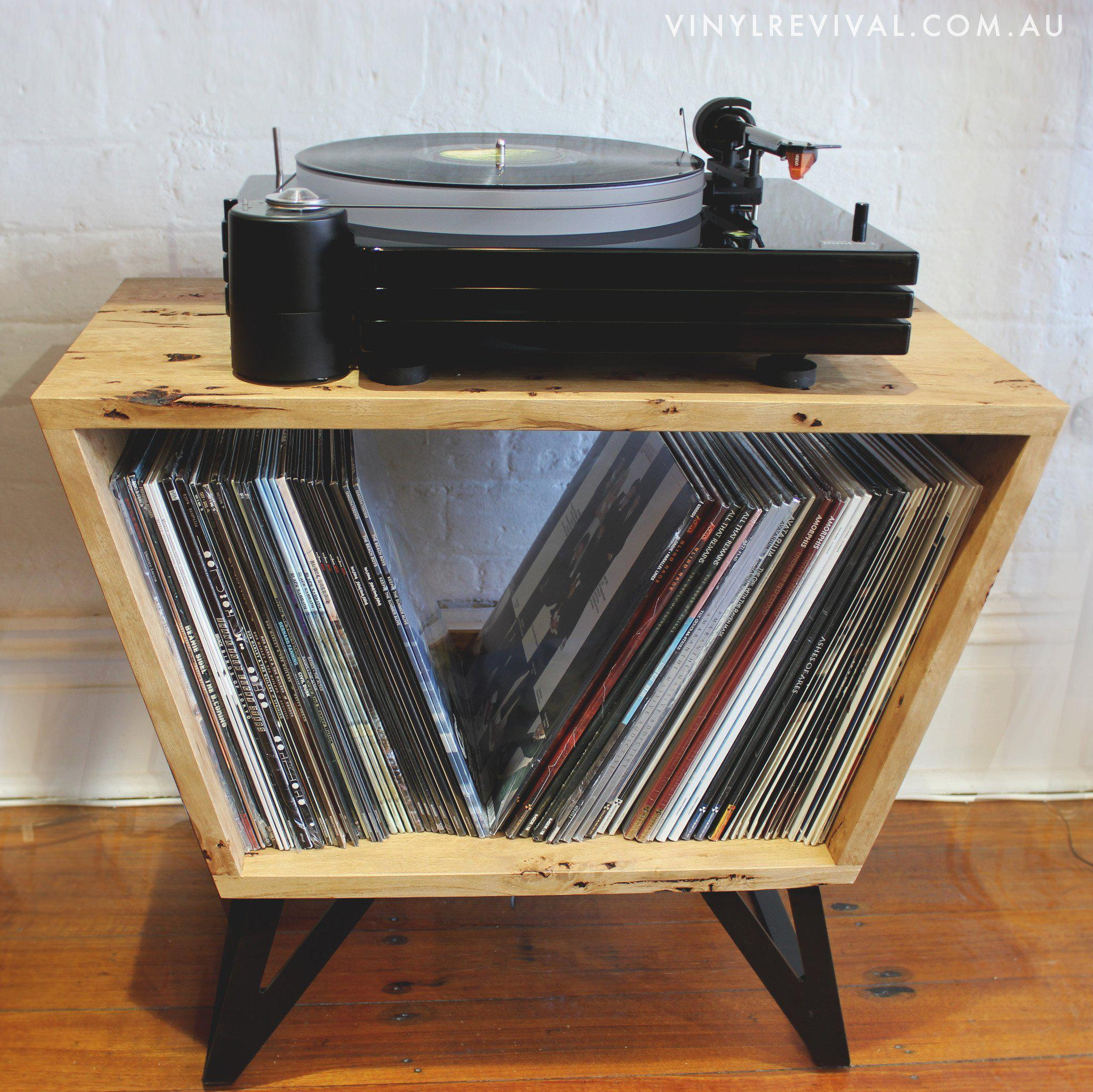 Handmade Record Player Console Vinyl Revival