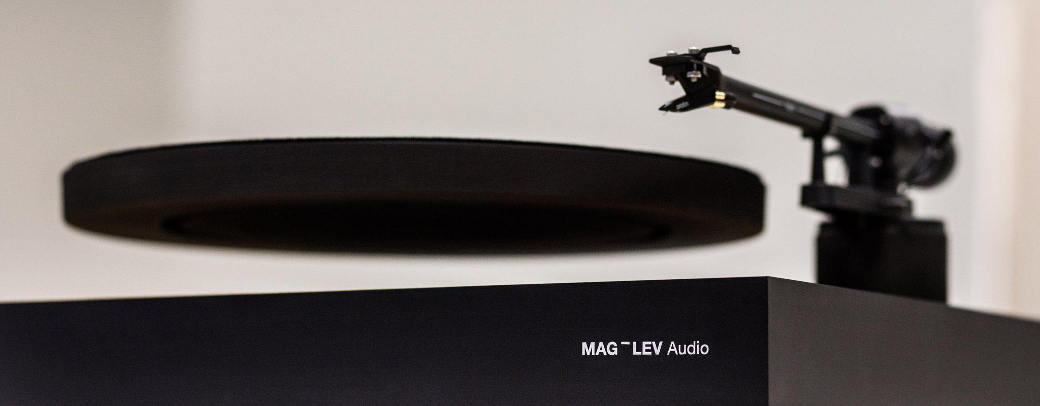 MAG-LEV Levitating Turntable - Wood-MAG-LEV Audio-Vinyl Revival