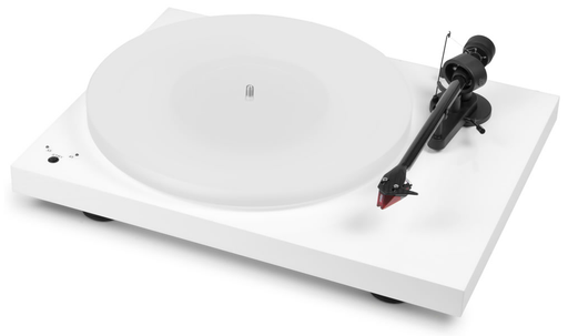 Project Debut Carbon Esprit SB DC Turntable: Gloss White - Vinyl Revival - Fitzroy - 1