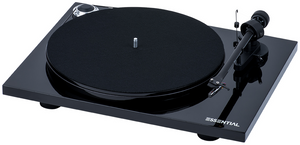 Project Essential III Phono Turntable - Black-ProJect Audio Systems-Vinyl Revival