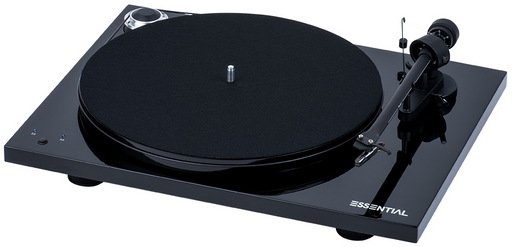 Project Essential III RecordMaster Turntable - Black-ProJect Audio Systems-Vinyl Revival