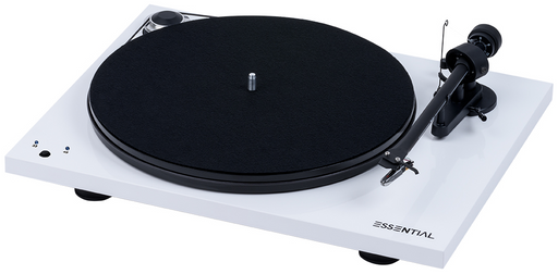 Project Essential III RecordMaster Turntable - White-ProJect Audio Systems-Vinyl Revival