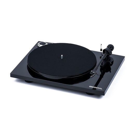 Pro-Ject Essential III Turntable with Ortofon OM10 Cartridge - Black-ProJect Audio Systems-Vinyl Revival