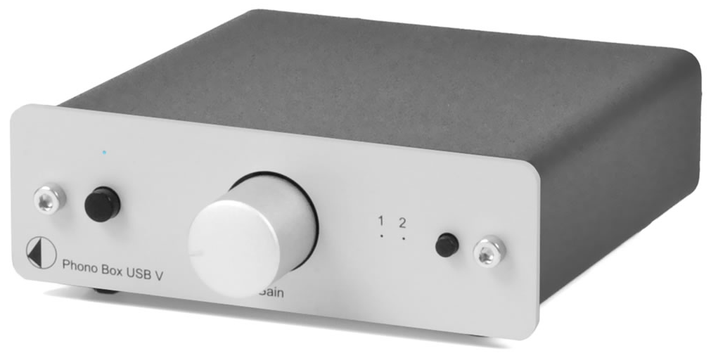 Project Phono Box USB V Phono Preamplifier - Vinyl Revival - Fitzroy - 1