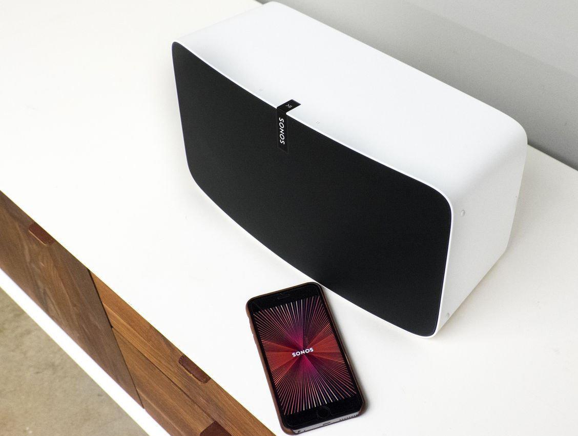 Sonos Play:5 Wireless Speaker (White)-Sonos-Vinyl Revival