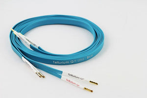 Tellurium Ultra Blue Speaker Cable 2x2.5m, Bananas or Spade-Tellurium-Vinyl Revival