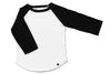 Kingston baseball tee black