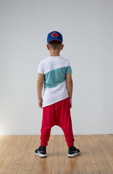 Tavy pants - red
