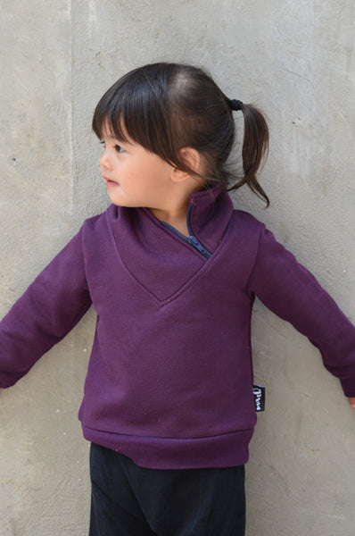 Sovereign pullover purple