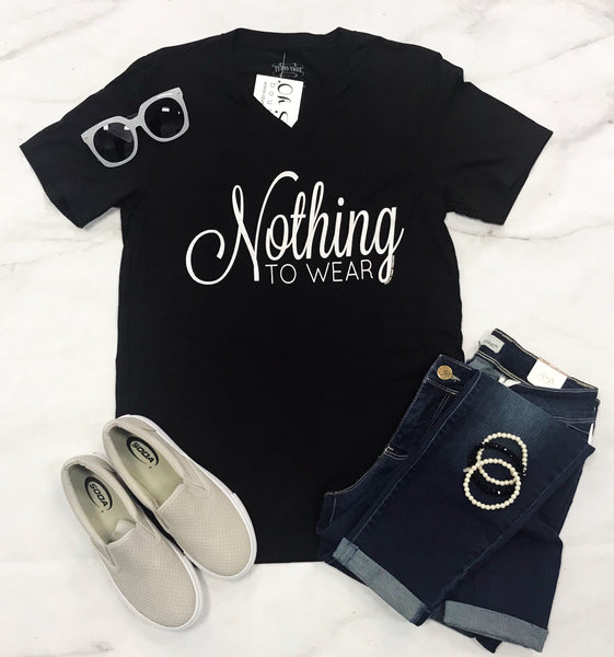 """Nothing To Wear"" Tee"