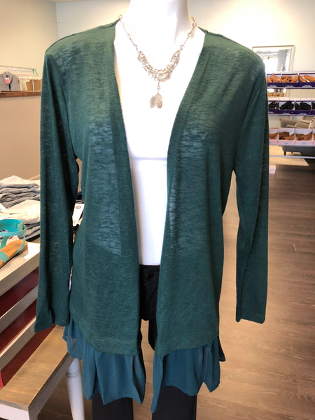 """Ellie"" Open Front Cardigan"
