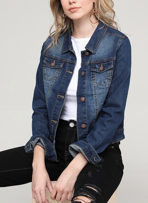 """Isabel"" Denim Jacket"
