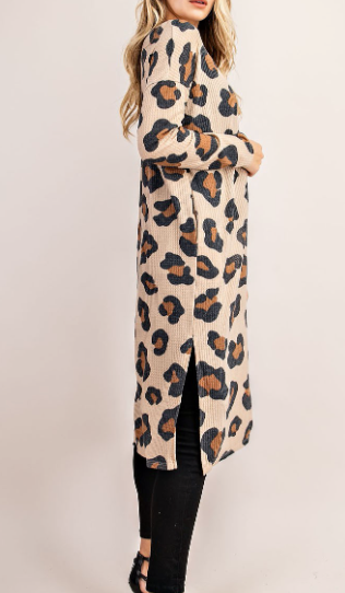 """Hope"" Leopard Duster"