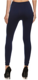 Navy Seamless Leggings (S-3XL)