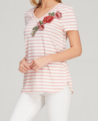 Floral Patch Tee (S-L)