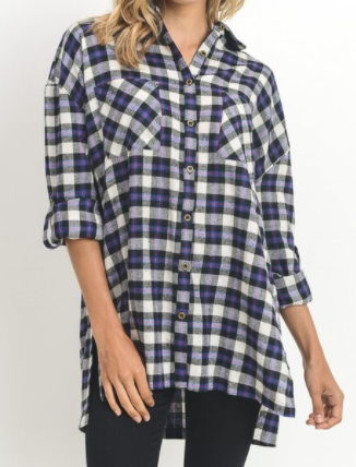 """Millie"" Flannel (S-L)"