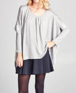 """Betty"" Batwing Top"