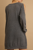 """Emery"" Cold Shoulder Dress"