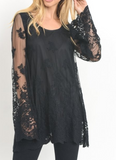 """Eliza"" Lace Top"