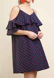 """Margot"" Polka Dot Dress"