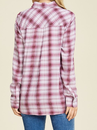 """Zoey"" Flannel Top"