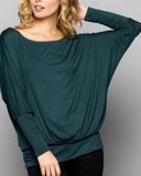 """Calley"" Off Shoulder Dolman Top"