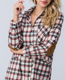 """Martha"" Flannel Top"