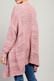"""Savannah"" Oversized Cardigan"