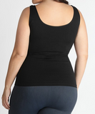 Plus Reversible Cami (Black or White)