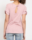 """Nicki"" Knot Sleeve Top"