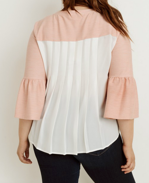 """Tara"" Bell Sleeve Top (S-3XL)"