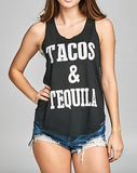 """Tacos and Tequila"" Tank"