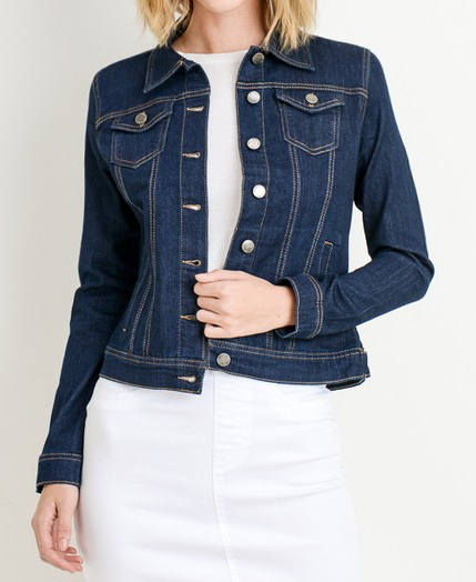 """Adeline"" Denim Jacket"